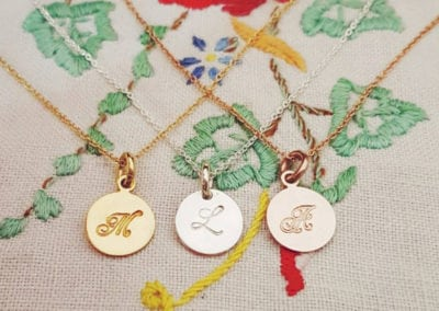 signet necklaces