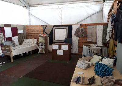 Stall in Design Tent